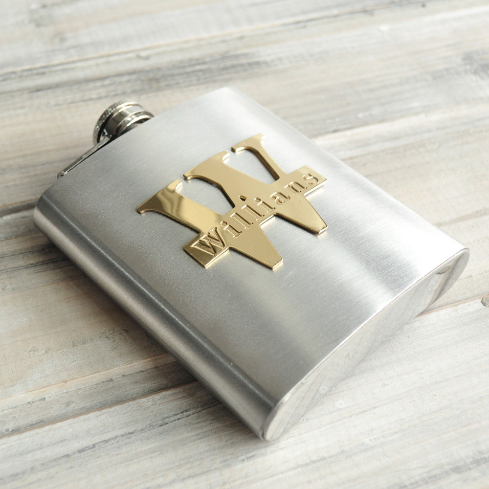 Personalised Flask Engraved Wedding Hip Flask Groomsman Gift Stainless Steel Flask Gift for Men 7 ozPersonalised Flask Engraved Wedding Hip Flask Groomsman Gift Stainless Steel Flask Gift for Men 7 oz