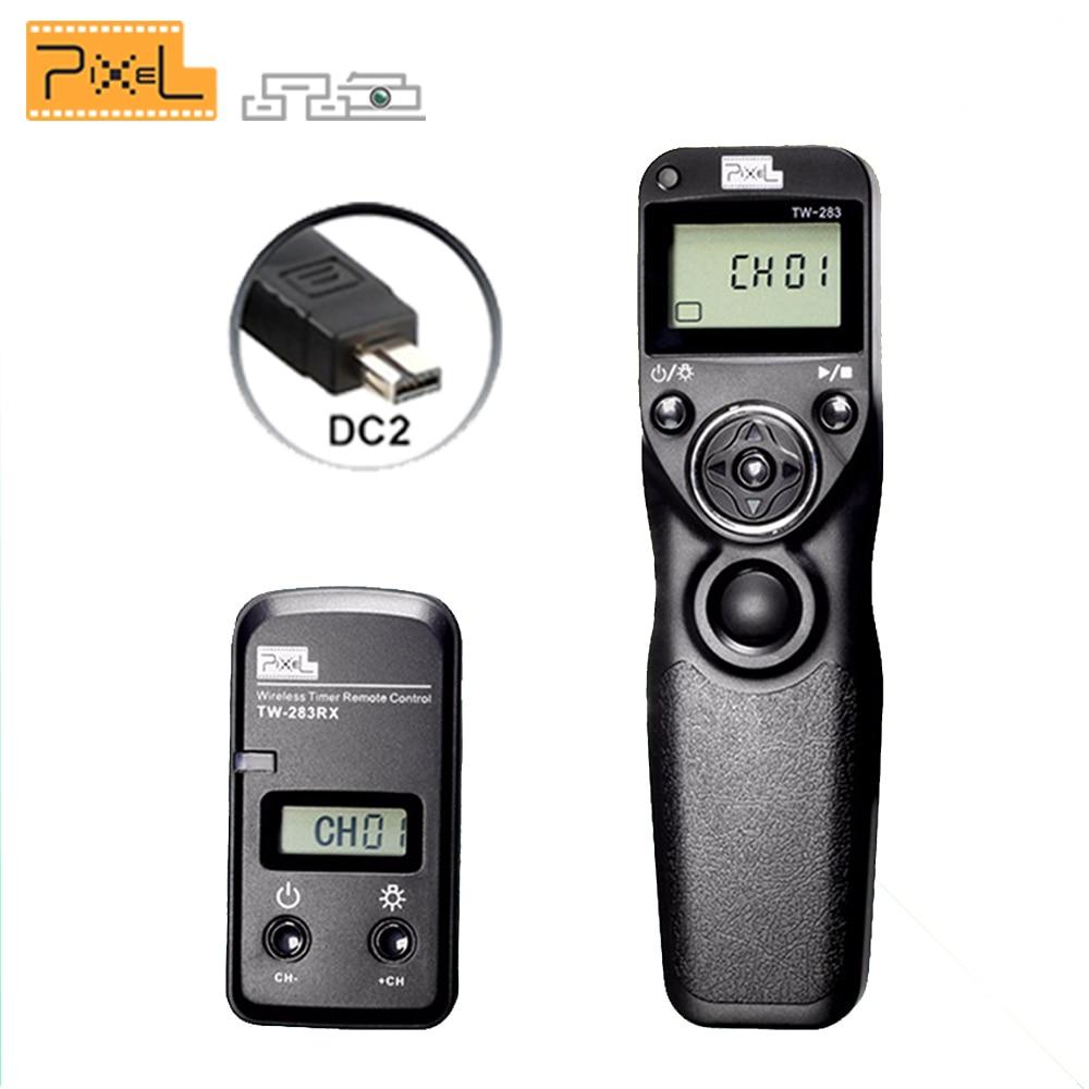 Pixel TW283 TW-283 DC2  Wireless Timer Remote Control For Nikon D750 5200 D3100 D5300 D610 D600 D5500 D90 D3300 Shutter ReleasePixel TW283 TW-283 DC2  Wireless Timer Remote Control For Nikon D750 5200 D3100 D5300 D610 D600 D5500 D90 D3300 Shutter Release