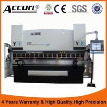 4mm hydraulic plate bending machine 12ft sheet metal bender 4 mtr cnc press brake 80 Tons