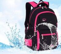 Children School Bags Large Capacity Nylon Waterproof School Portfolio Orthopedics Backpacks Boys Girls Schoolbag Mochila Escolar