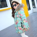 Children's Winter Jackets Girls New Jacket Down Coat Baby Girl Clothes Fashion Down Jacket Girls Long-style Cotton Outerwear