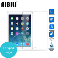 AIBILI For Ipad 2 3 4 Tempered Glass Screen Protector 2 5 9h Safety Protective Film