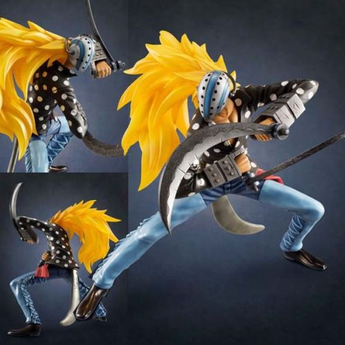 Free Shipping Cool 9 One Piece After 2 Years Massacre Soldier Killer  P.O.P EX Boxed PVC Action Figure Collection Model Toy brand new portrait of pirates one piece roronoa zoro 23cm pvc cool cartoon action figure model toy for gift kids free shipping