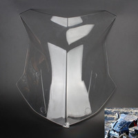 For BMW R1200GS R 1200 GS 2013 2017 Motorcycle Clear Windshield Windscreen PMMA Adventure Standard Triple ABS plastic
