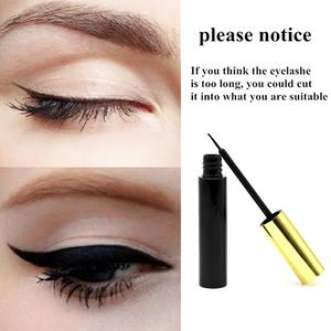 Image 3 - Magnetic Eyelash Magnetic Liquid Eyeliner& Magnetic False Eyelashes & Tweezer Set Waterproof Long Lasting Eyelash Extension