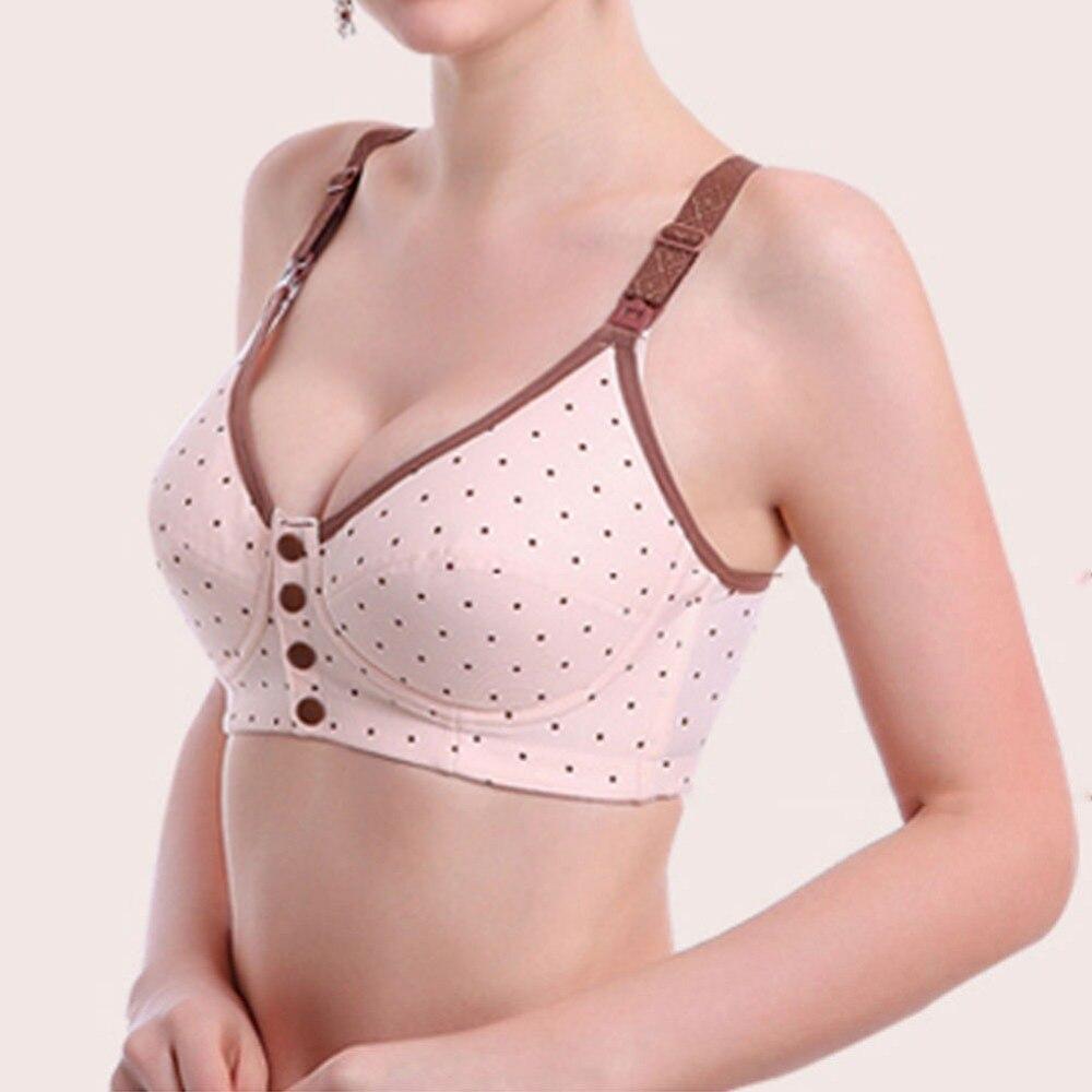 94ca57feab Aliexpress.com   Buy Wire Free Easy Nursing Feeding Pregnant Breastfeeding  Bra Size 34