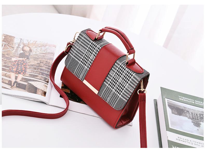 Summer Fashion Women Bag Handbags Pu Shoulder Bag Small Flap Crossbody Bags S1Y4
