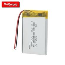 3.7V,600mAH 303450 303550 PLIB polymer lithium ion / Li-ion Rechargeable battery for dvr,GPS,mp3,mp4,E-book, LED light,speaker цена