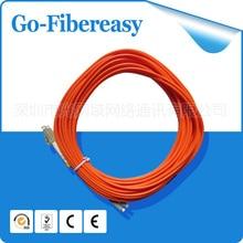 5 unids/lote Fibra Óptica Patch cord LC-LC Multimodo OM1 fibra Duplex, MILÍMETRO, 3.0mm 62.5/125um 10 metros