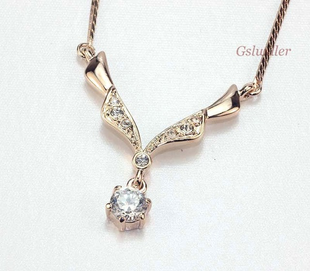 Italina Rigant Jewelery wholesale Free Shipping Fashion Crystal Necklace, Austrian Crystal,Necklace gift