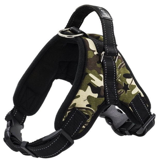 Adjustable Step In K9 Harnesses