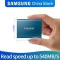 Samsung T5 portatile SSD DA 250 GB 500 GB 1 TB 2 TB USB3.1 Unità a stato solido Esterne USB 3.1 Gen2 e compatibile con le versioni precedenti per PC