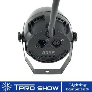 Image 4 - ポケット 12 × 3 ワット LED パー RGB 3in1 トリコロール DJ LED ステージライト Dmx 512 制御音楽活性ライトホームパーティーライト