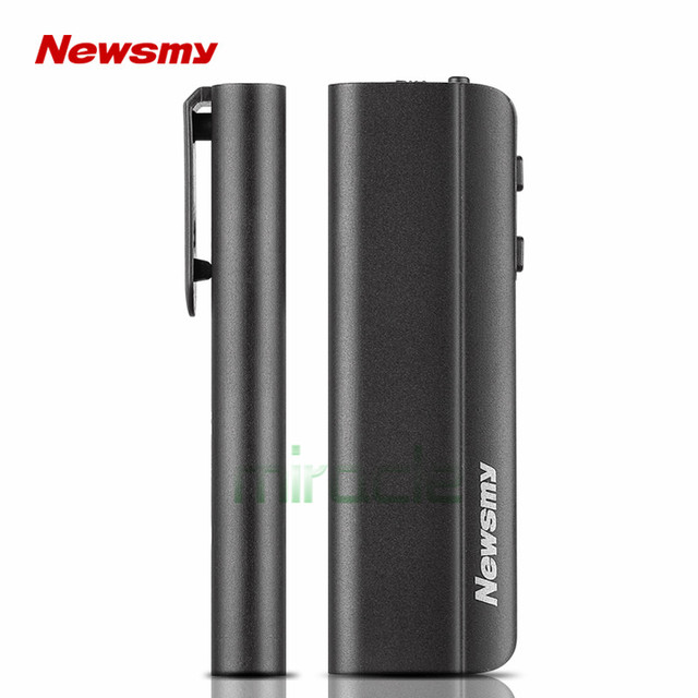 newsmy RV95 8G voice Recorder micro clamp professional HD long distance voice control recorder mini MP3 Dictaphone