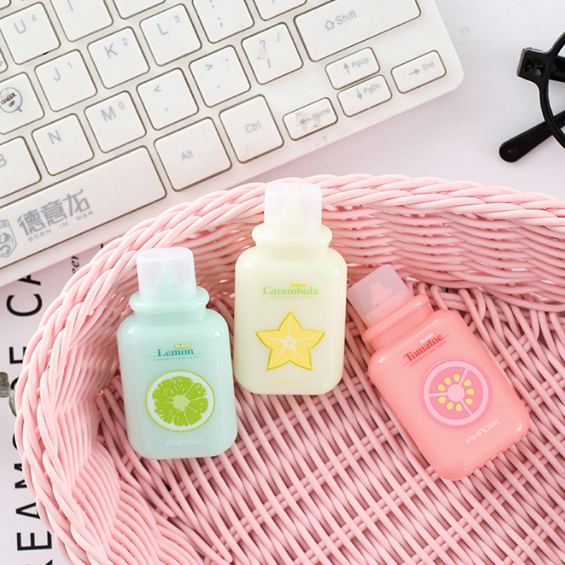1X Mini Kawaii Candy Color Correction Tape Creative Correction Tape Office School Correcting Stationery Supplies