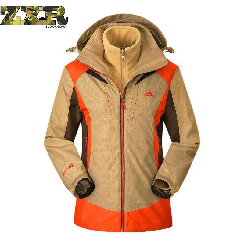 цена Outdoor Waterproof Hooded Softshell Jacket Women Winter Thermal Tech Fleece Hiking Clothing Ski Fishing Climbing Coat