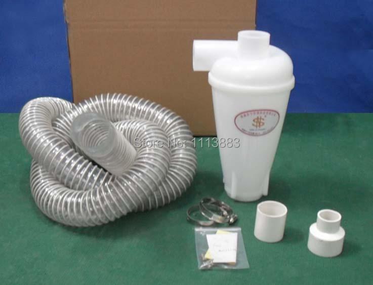 Купить с кэшбэком Cyclone Dust Separator + 2.2m Hose with 55mm diameter(or 2m Hose with 50mm diameter)