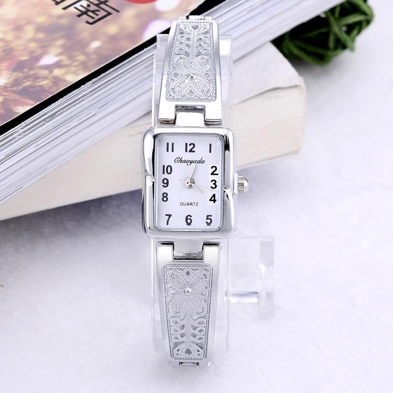 Luxury Silver Watch Women Watches Bracelet Women's Watches Ladies Watch Female Clock Reloj Mujer Zegarek Damski Relogio Feminino