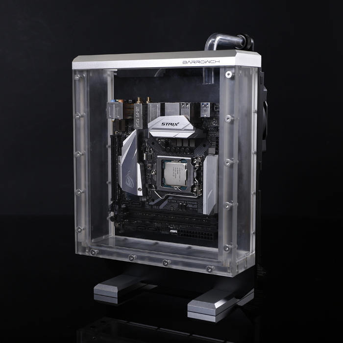 Barrowch Immersive Water Cooling Case Chassis ITX я immersive digital art 2018 03 22t14 00
