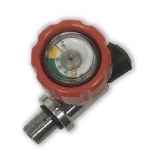 AC911 цилиндр сжатого воздуха клапан пейнтбол с манометром резьба M18* 1,5 для углеродного воздушного бака Прямая Acecare