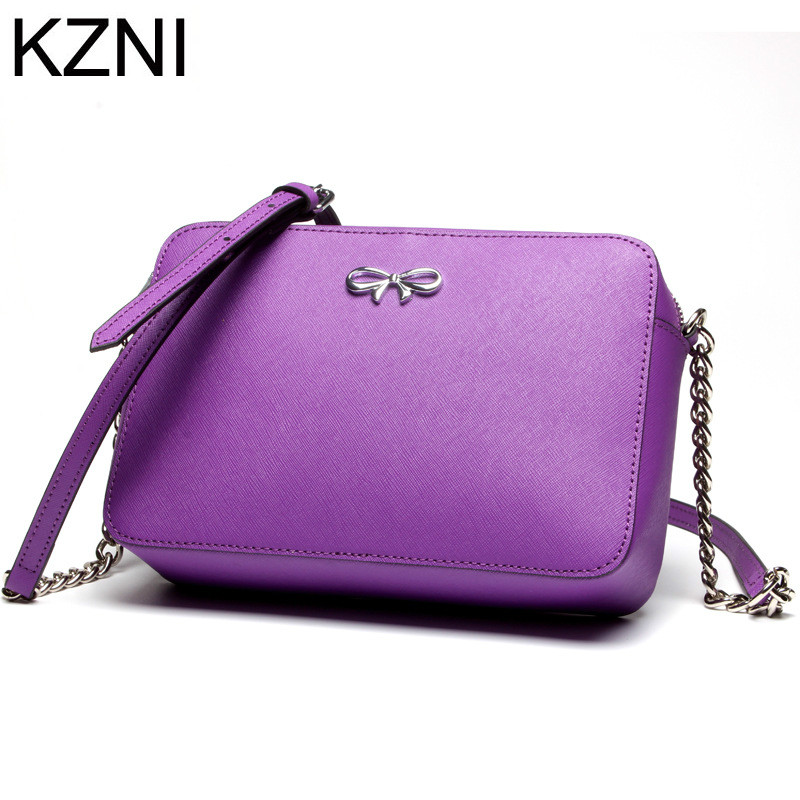 ФОТО KZNI genuine leather female bags designer handbags high quality ladies hand bags sac de luxe les plus vendu de marque L121836