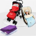 Baby Sleeping Bag for stroller warm winter Newborn Envelope Kids Thick foot cover for pram wheelchair Infant stroller foot muff