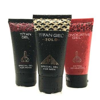 TITAN Provocative GEL Big Penis Male Enhancement Increase Enlargement Time Delay Cream Adult Sex Product Shop Wholesale