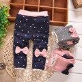 FRETE GRÁTIS leggings bebê meninas, crianças de algodão mais inverno veludo legging calças, calças do bebê, Varejo # Y1429