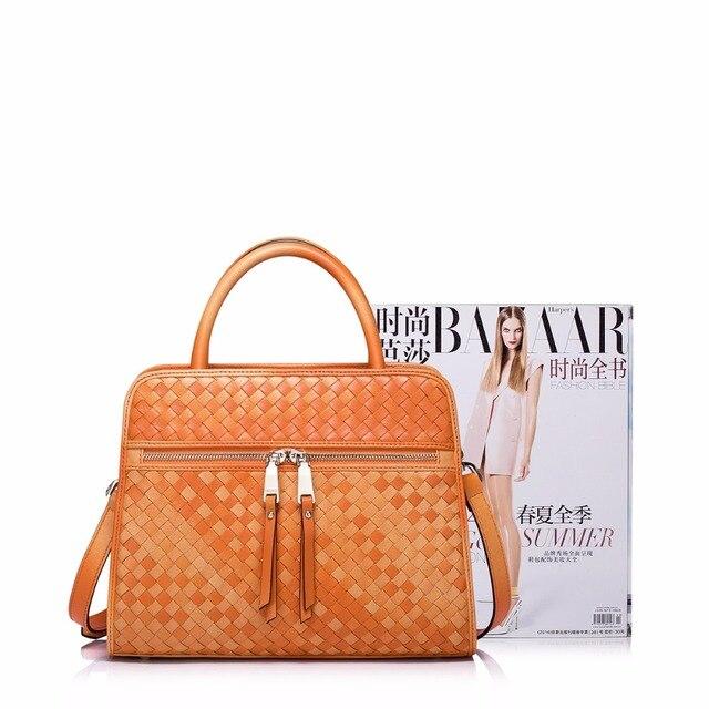 NUCELLE Brand Women's Designer Handbags Luxury Genuine Sheepskin Leather Braided Ladies Shoulder Bag Crossbody Bags For Women