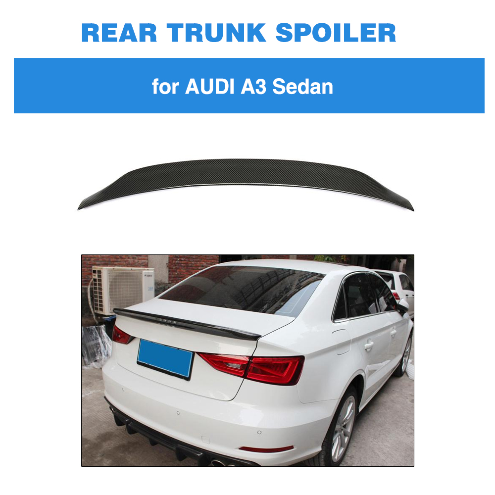 Worldwide Delivery Audi A3 Carbon Fiber Spoiler In Nabara Online