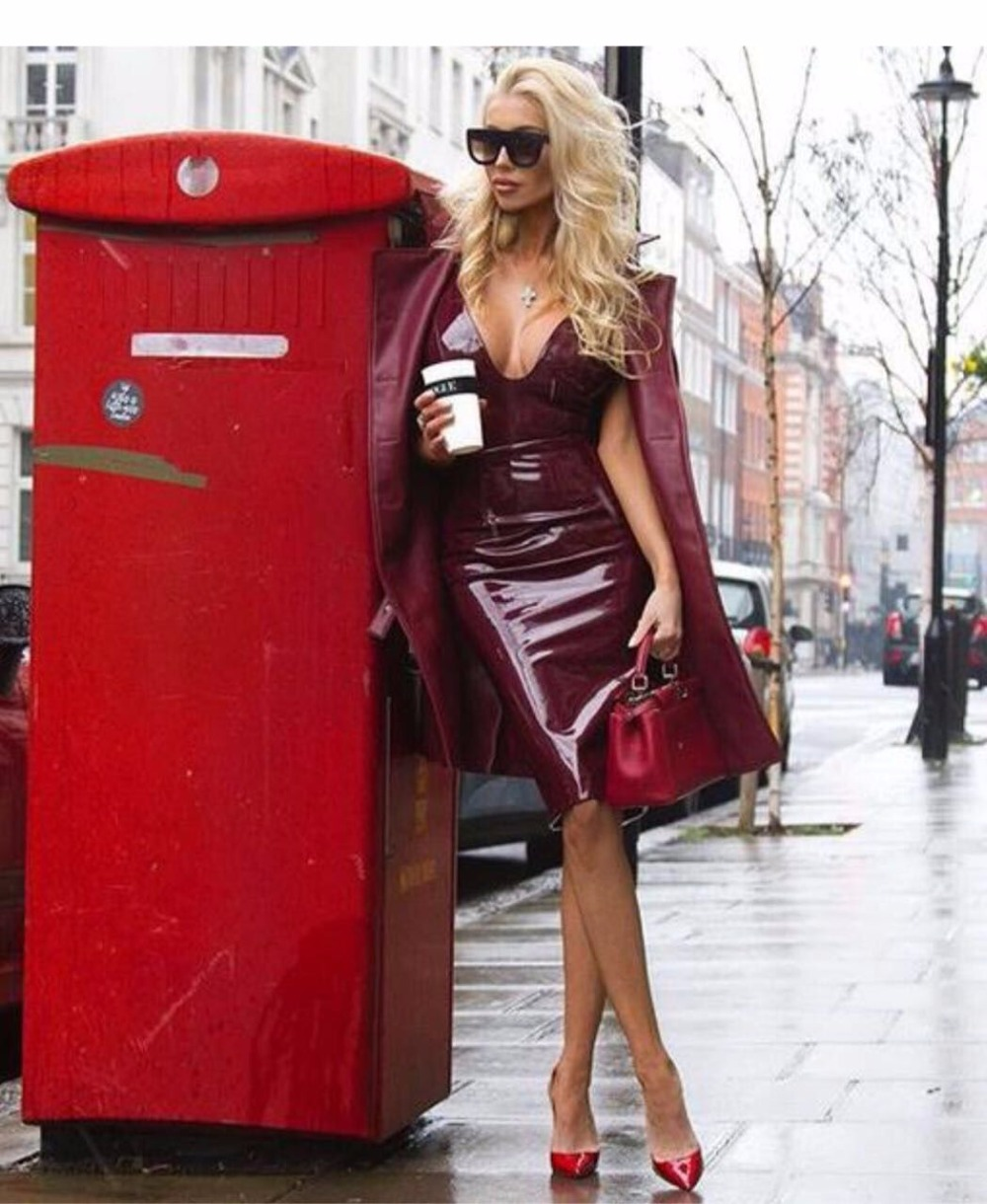 2017 Sundress Spaghetti Strap Sexy Black Wine Red Women Pencil Celebrity Cocktail Party Dresses Sexy Quality