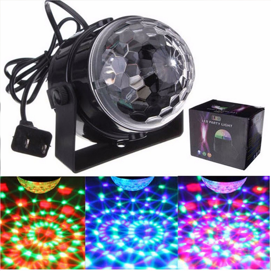 3 Watt Mini Rgb Led Kristall Magische Kugel Beleuchtung Lampe Disco Club Dj  Licht Zeigen Lumiere In LED Indoor Wall Lamps From Lights U0026 Lighting On ...