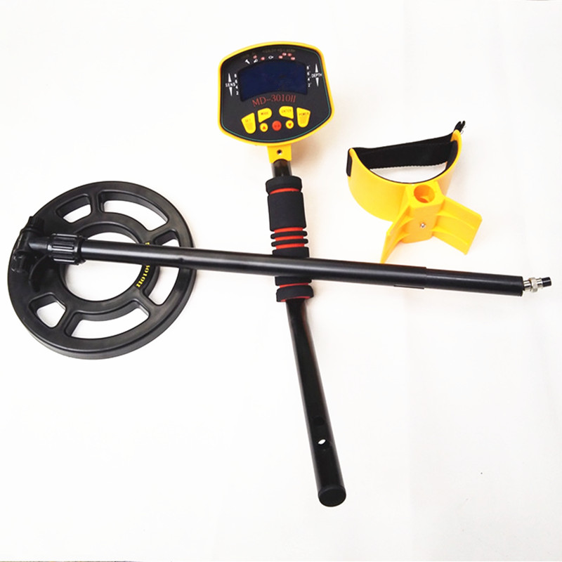 MD-3010II Professional underground Industrial Metal Detector Fully Automatic with LCD Display Gold silver Digger Treasure Hunter