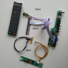 VGA AV AUDIO LCD LED TV HDMI-compatible USB 1 CCFL lamps card Controller driver Board KIT DIY For LTN154X3-L01 1280X800 panel