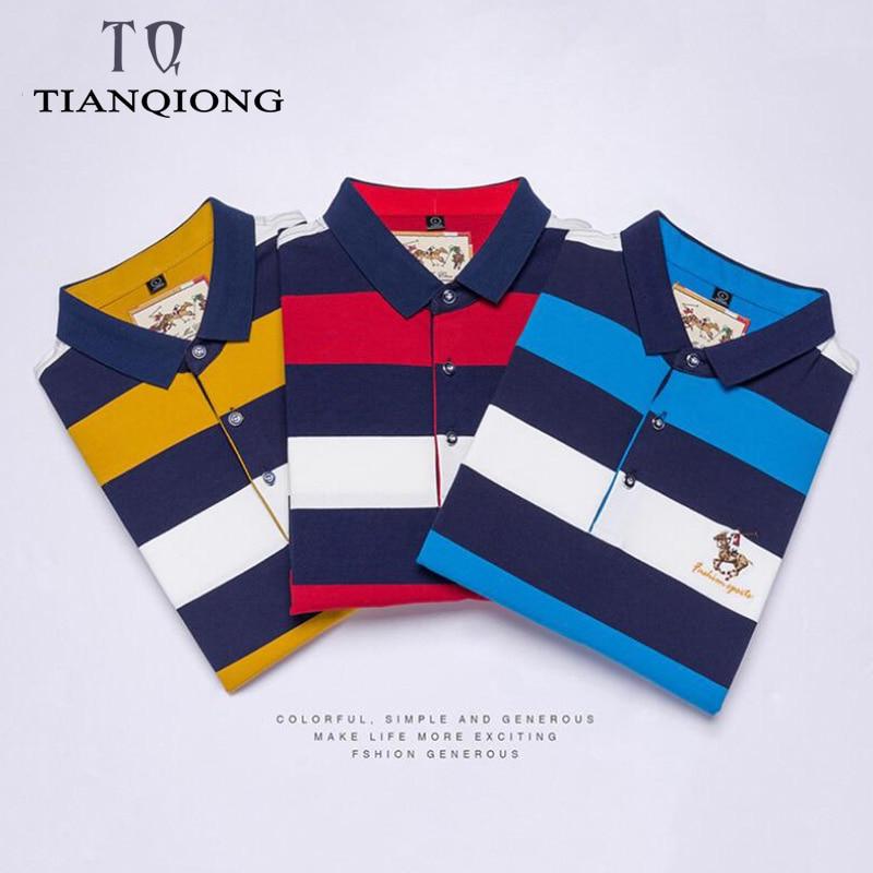 Erkek Kıyafeti'ten Polo'de 3 adet Tops & Tees erkek polo gömlekler Iş erkekler markalar polo gömlekler 3D nakış turn aşağı yaka erkek POLO GÖMLEK'da  Grup 2