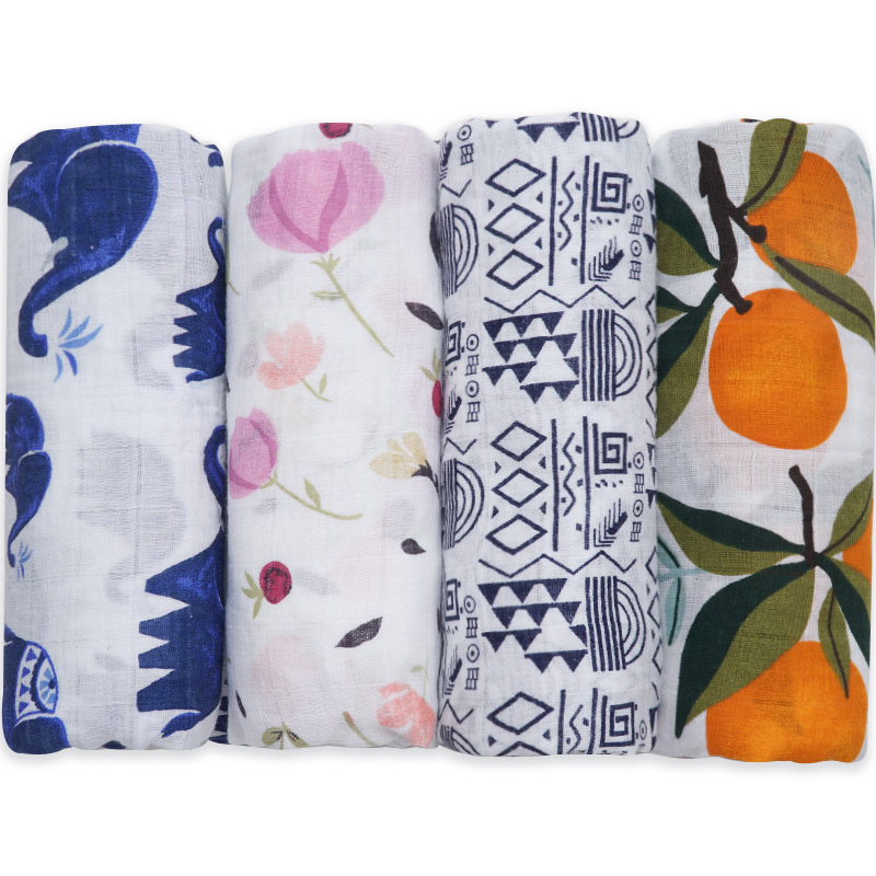 Cotton Baby Blankets Newborn Swaddle Wrap Super Soft Toddler Infant Baby Bed Quilt Big Diapers Bath Towel Stroller Accessories