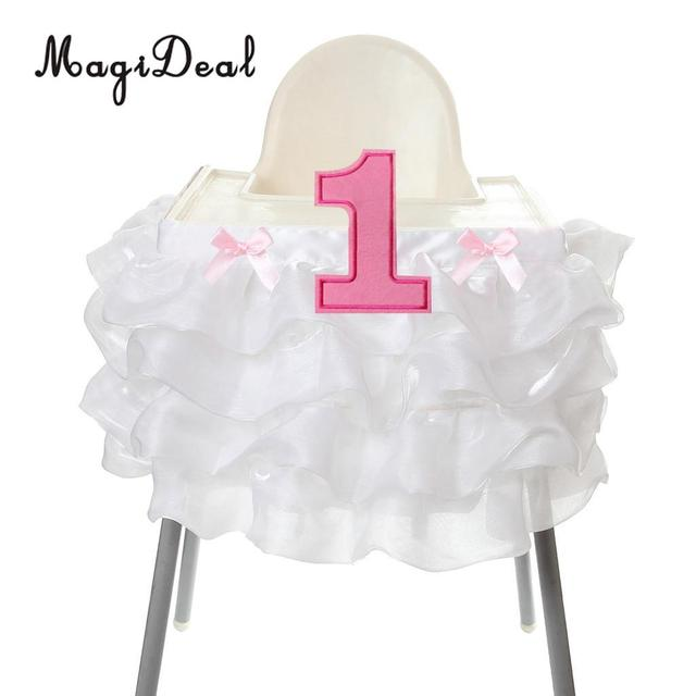 White Pink baby high chair 5c64f68d1e7ca