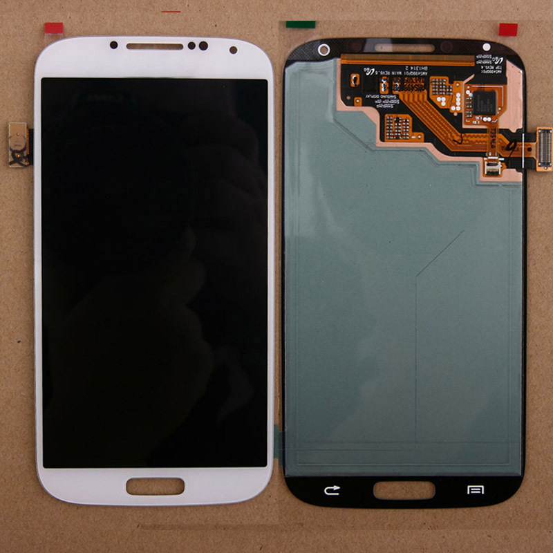 White Front LCD Screen Display Touch Digitizer Assembly For Samsung Galaxy S4 I9500 I9505 i337 i545 L720 M919 R970