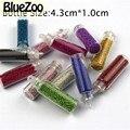 BlueZoo 12 Бутылок Смешанных Цветов Nail Art Блеск Малый Шестигранной Блестка Украшения Ногтей Салон Советы DIY Макияж Аксессуары