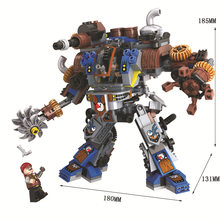 371pcs Steam Creator Titan Robots Compatibie with Legoings Building Blocks Toy Kit DIY Educational Children Christmas Gifts(China)