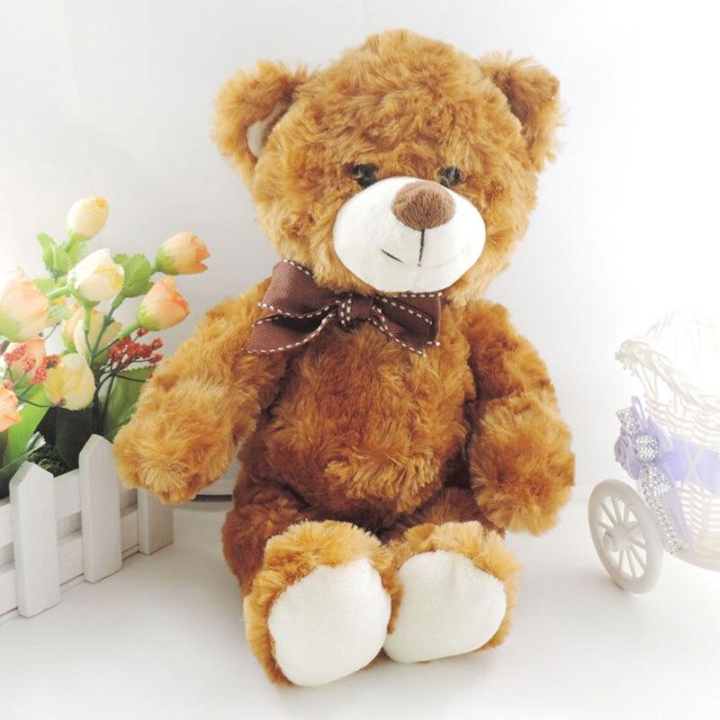 Stuffed e Plush Animais bonito ursos de pelúcia bichos Model : Bear With Bowtie/necklace