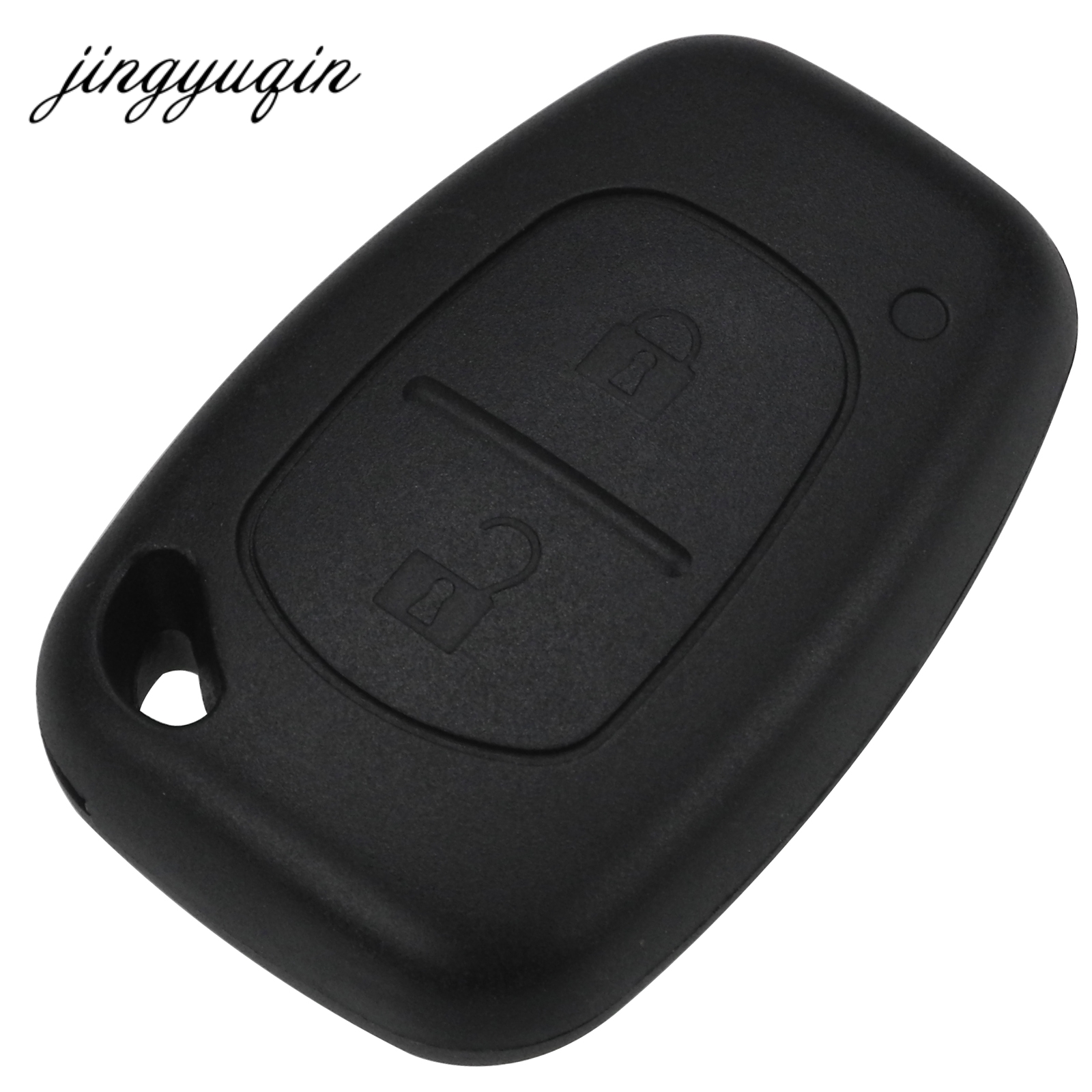 jingyuqin 50pcs lot 2 Button Remote Key Shell For Renault Opel Vauxhall for Nissan Vivaro Traffic