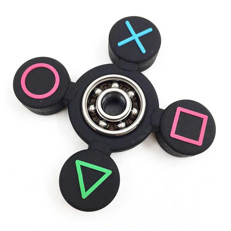 Съемная кнопка для игры Спиннер для аутизма и СДВГ время вращения длинные антистресс игрушки