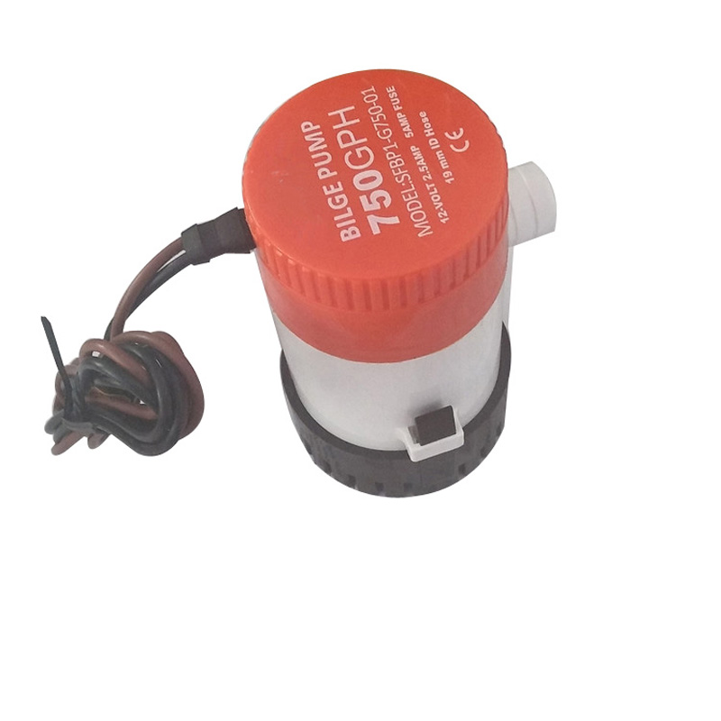 Image 4 - 750 GPH Non Automatic Bilge Pump 12V DC Marine Boat Submersible Pump Drain Pump Boat Accessories Marine-in Marine Hardware from Automobiles & Motorcycles