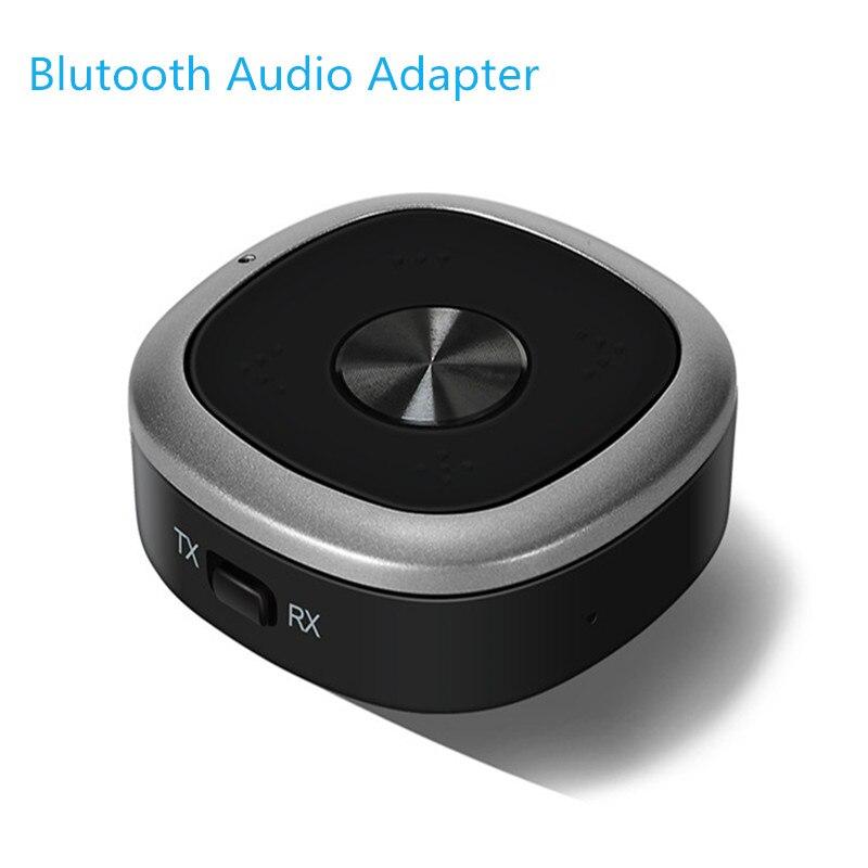 EastVita 3.5mm Adattatore Audio-in Bluetooth 4.1 Trasmettitore Senza Fili Music Receiver Adattatore APT-X Dongle con Il Mic per la TV/casa