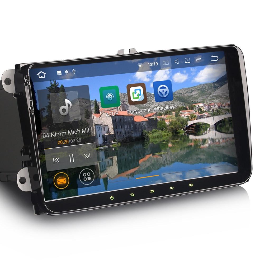 9 android 7 1 2 os car navigation gps radio for skoda. Black Bedroom Furniture Sets. Home Design Ideas