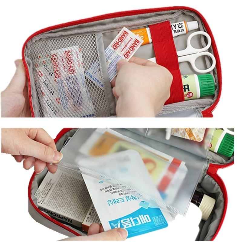 JXSLTC Merk Draagbare Ehbo Tas Emergency Medische Survival Kit - Home opslag en organisatie - Foto 4