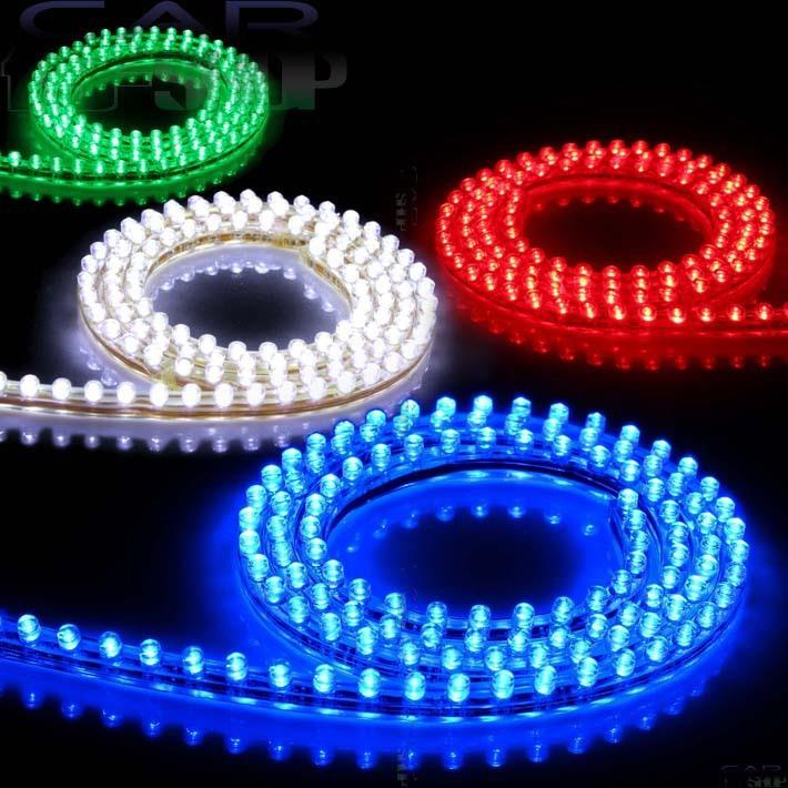 Pvc 48cm 48leds car 12v waterproof flexible led neon drl - Neon led 12v ...