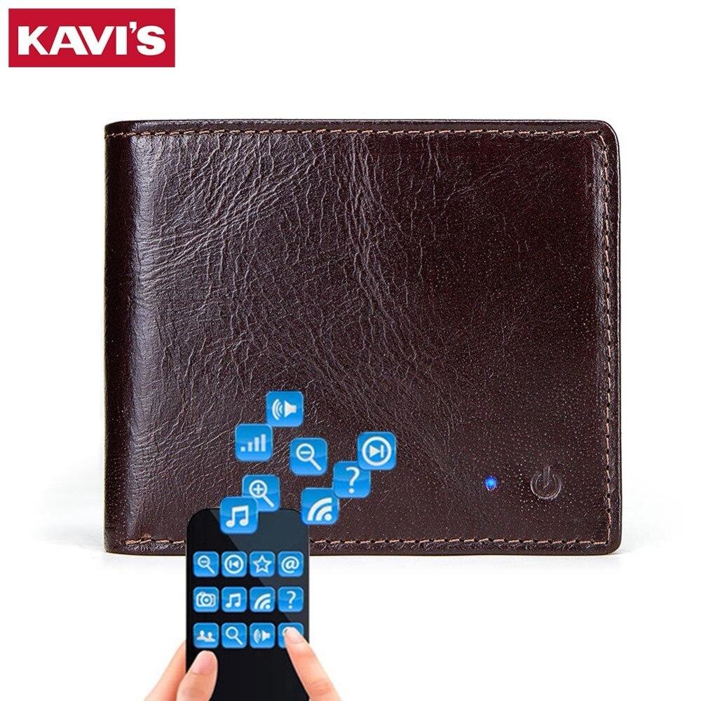c7ac6627be21d Achat KAVIS NOUVELLE MARQUE SMART Hommes Portefeuille RFID De Haute ...