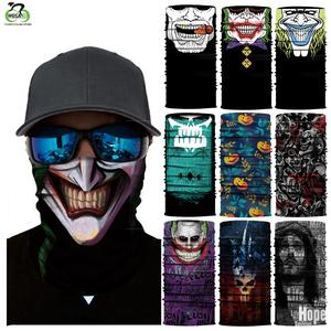 Scarf Balaclava-Masks Headband Ski-Mask Cycling-Head Cool Halloween Neck-Warmer Summer